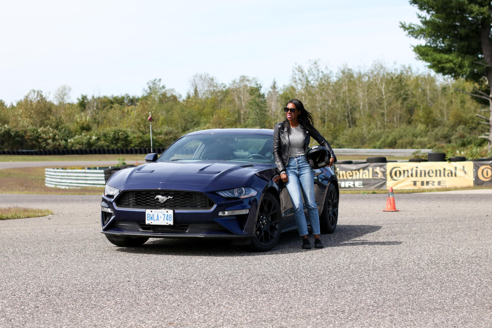 Driving This Car Was A Lifetime Experience - The 2018 Ford Mustang | Style Domination by Dominique Baker