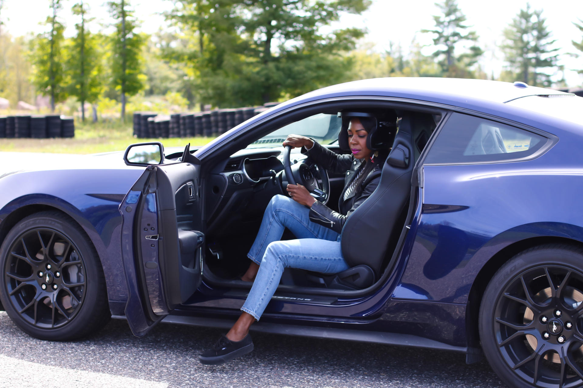 Driving This Car Was A Lifetime Experience - The 2018 Ford Mustang   Style Domination by Dominique Baker
