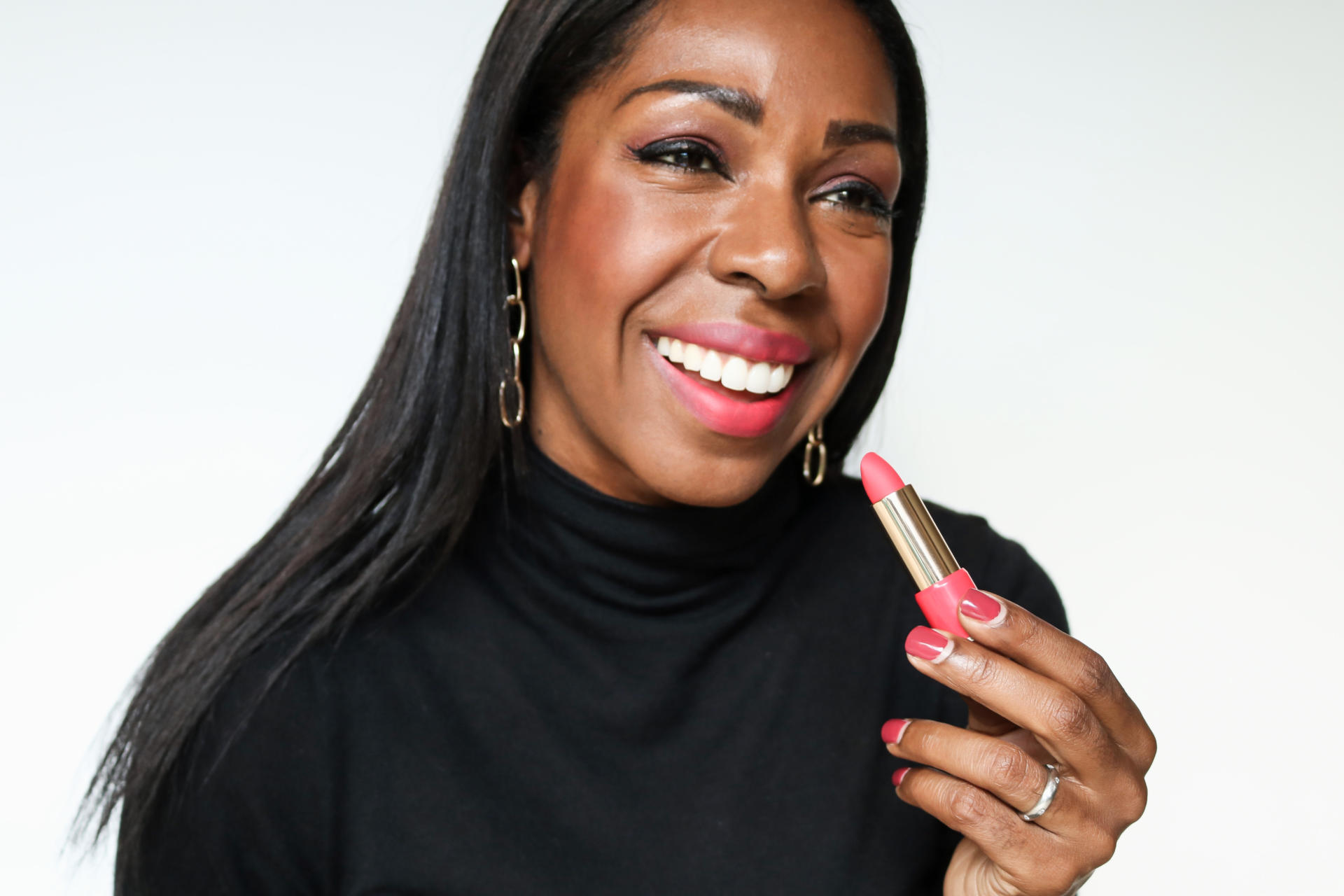 The Most Hydrating Matte Lipsticks: Lancôme L'Absolu Rouge Drama Matte   Style Domination by Dominique Baker