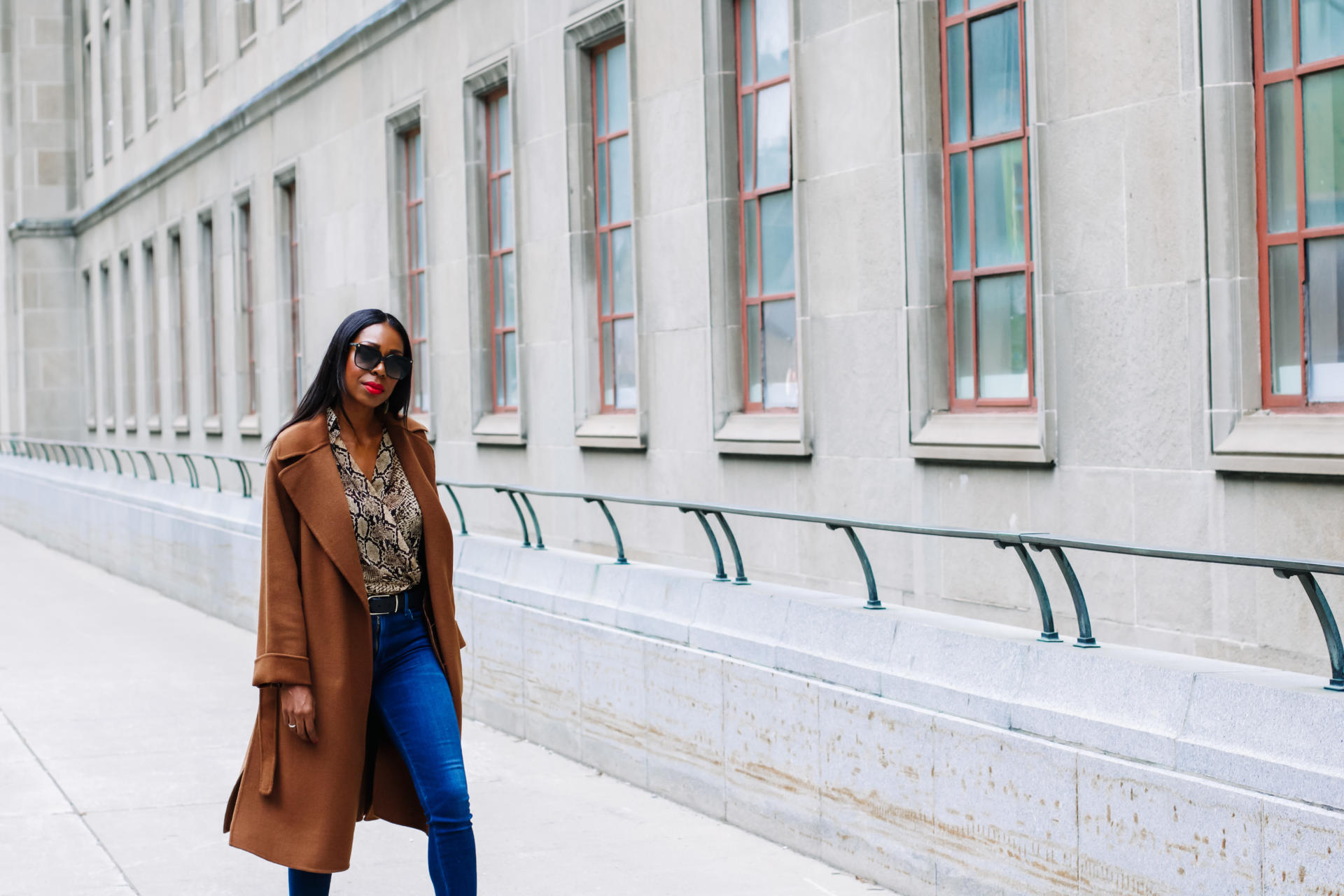 The Coat I'm Loving This Fall | Style Domination by Dominique Baker