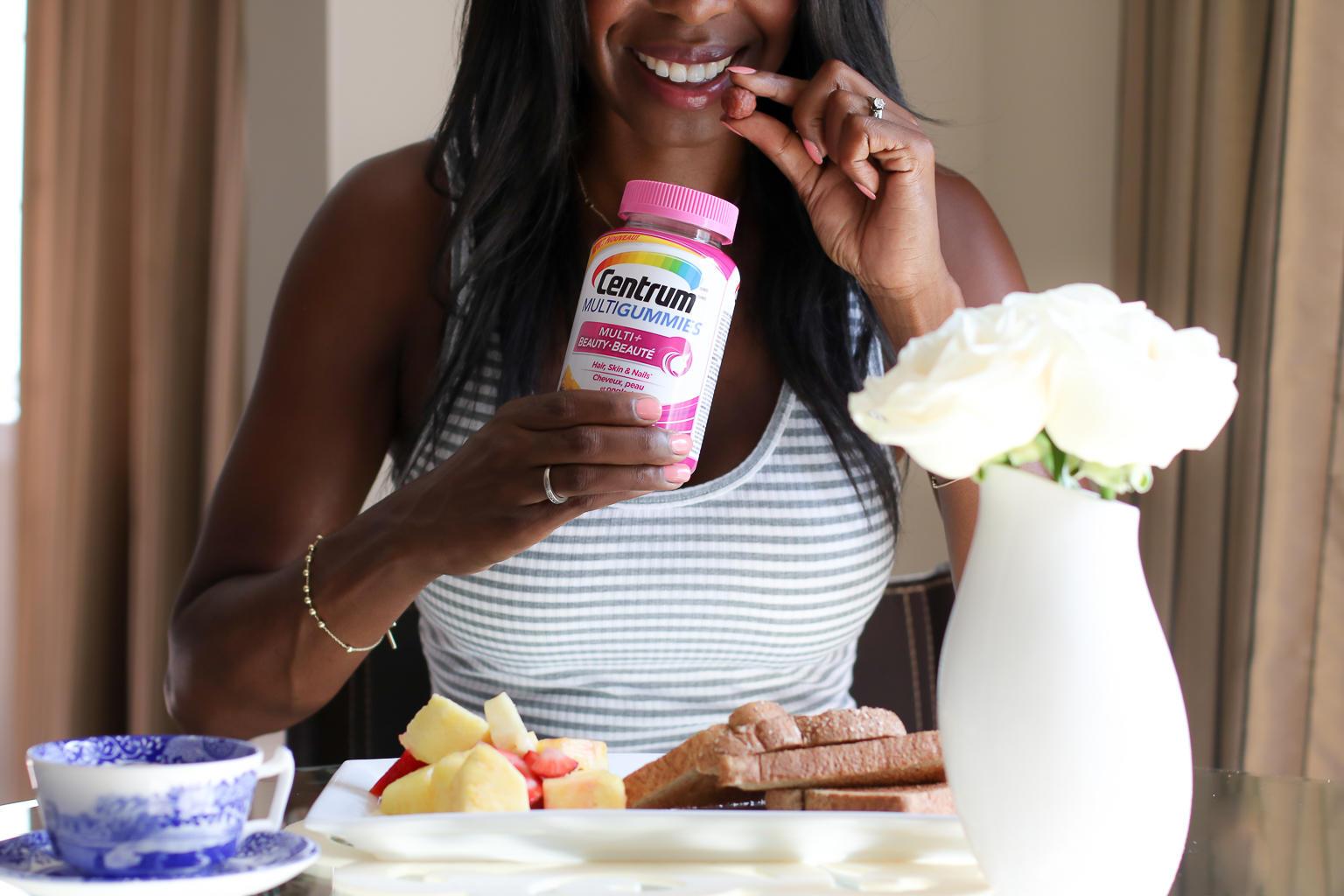 The Best Beauty Vitamin: Centrum Multigummies Multi+Beauty | Style Domination by Dominique Baker