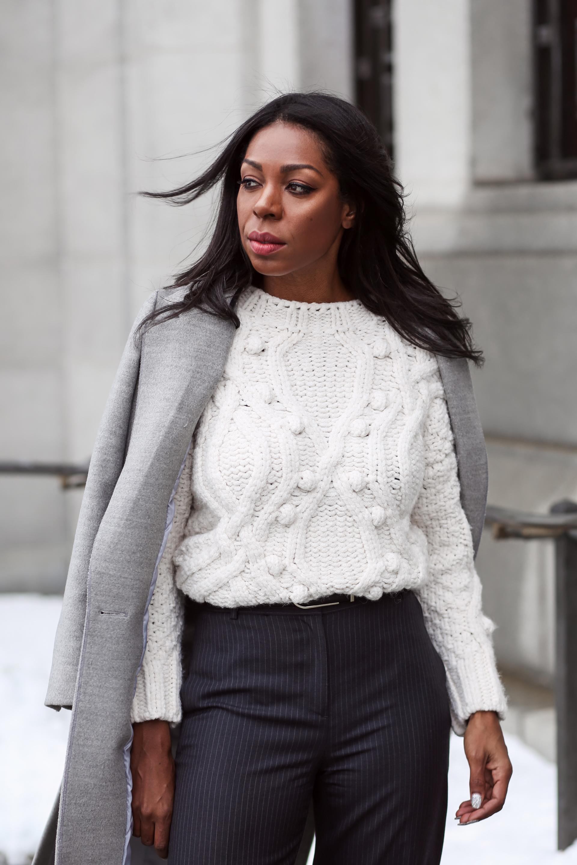 How To Style The Chunky Knit Sweater: Your Winter Style
