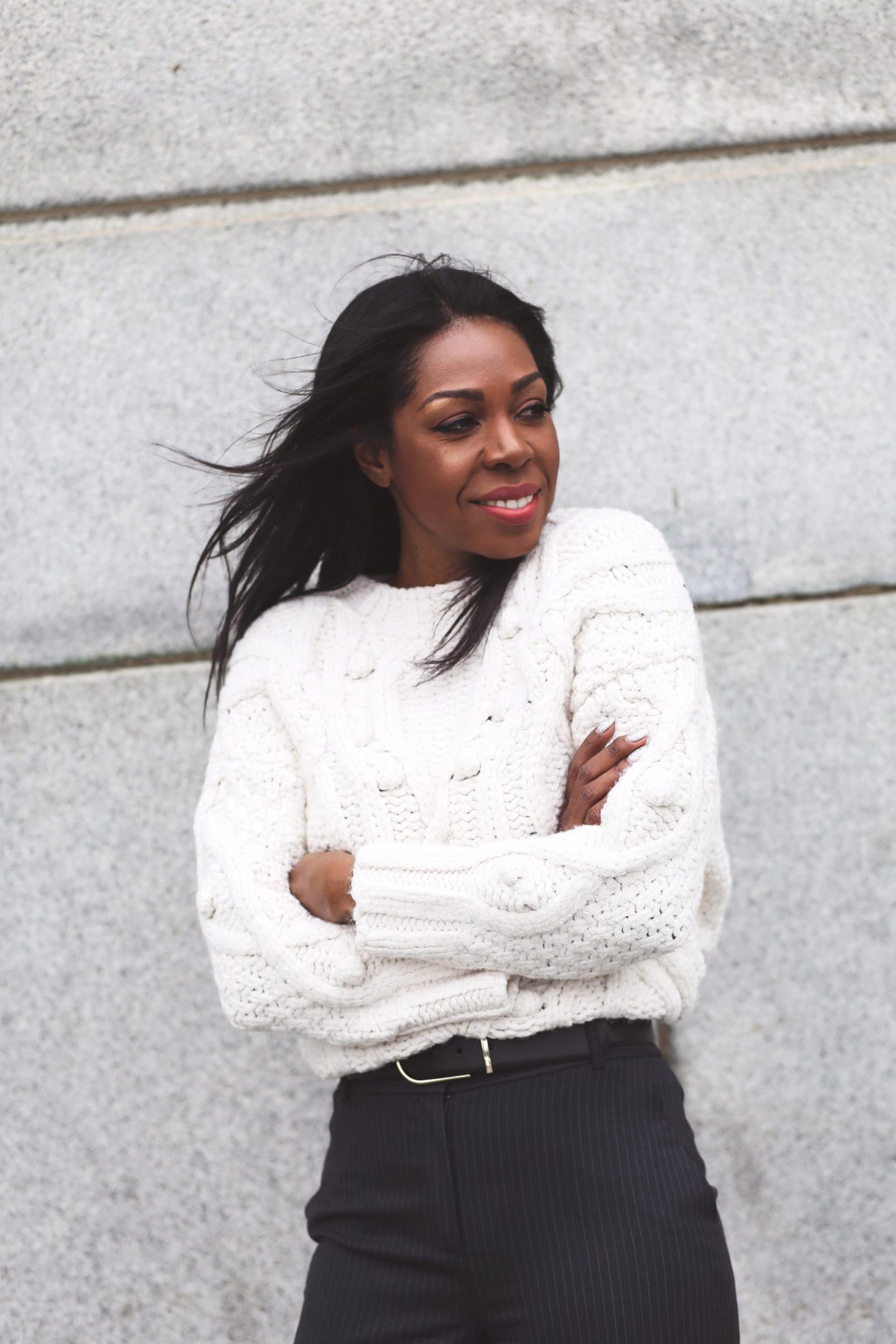The Chunky Knit Sweater: Your Winter Style Secret Weapon | Style Domination by Dominique Baker