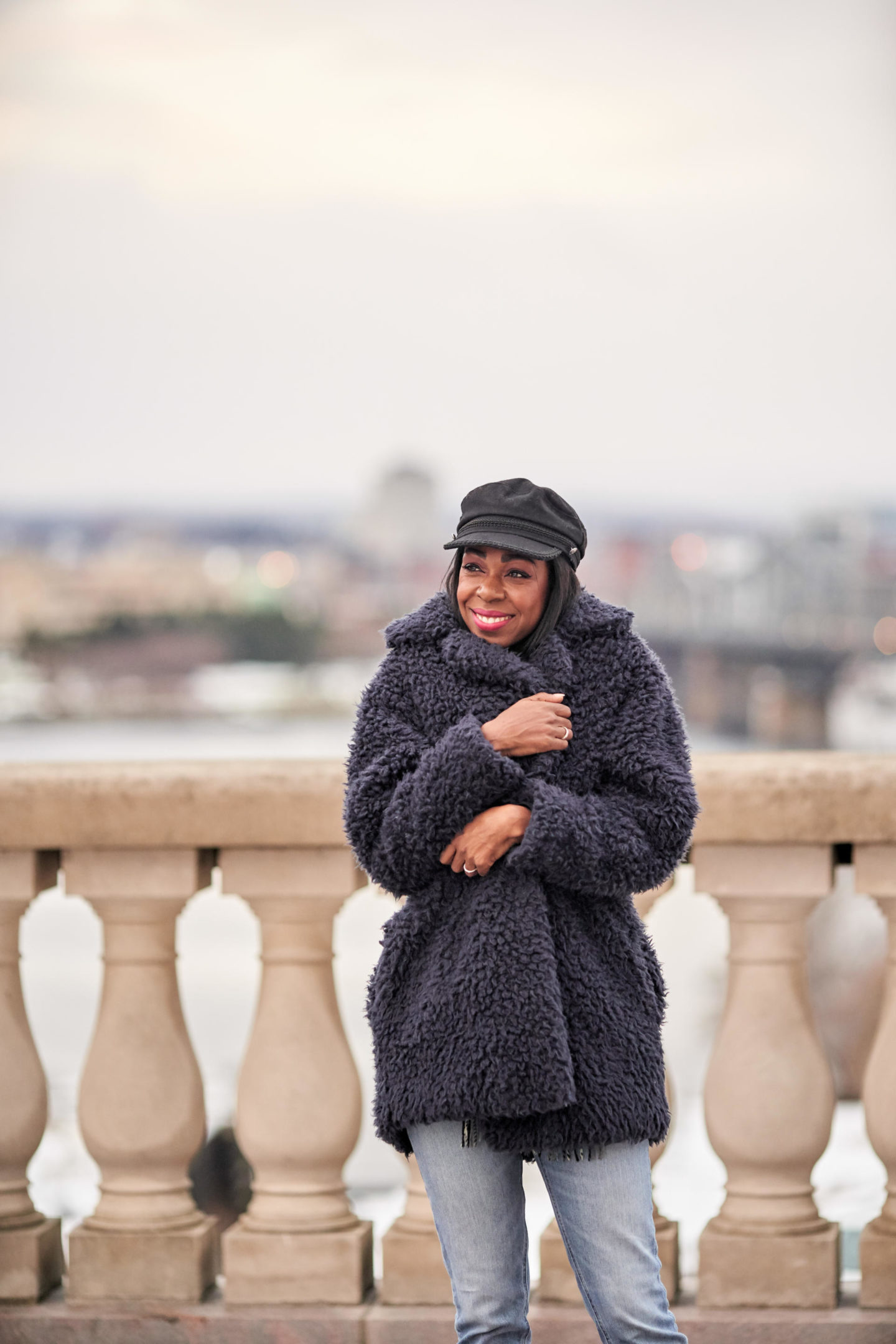 How To Style A Teddy Coat 101   Style Domination by Dominique Baker