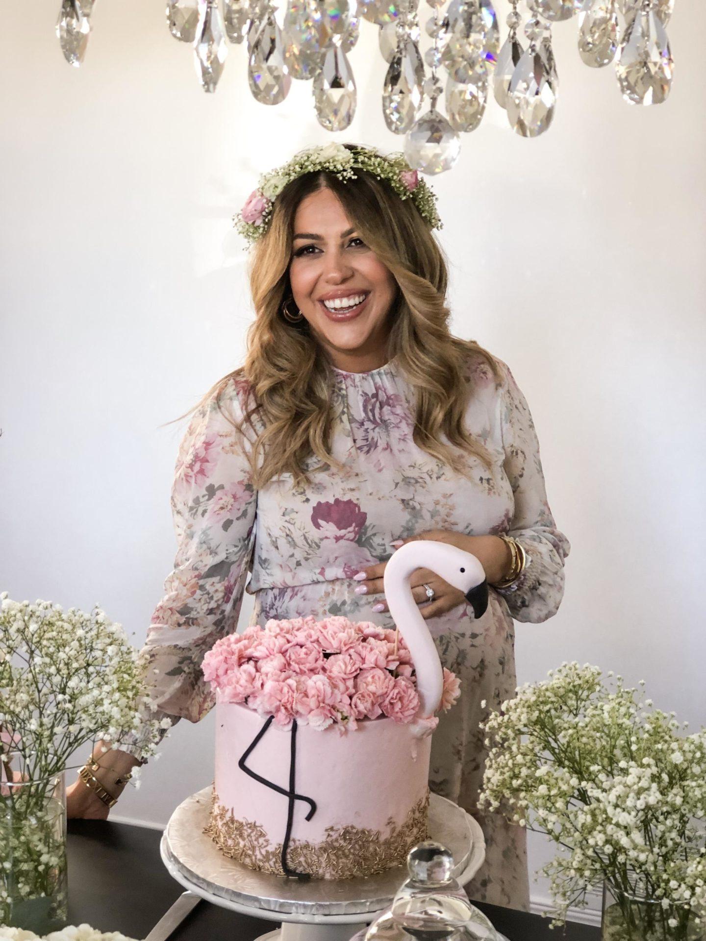 Tara Vassilev's baby shower