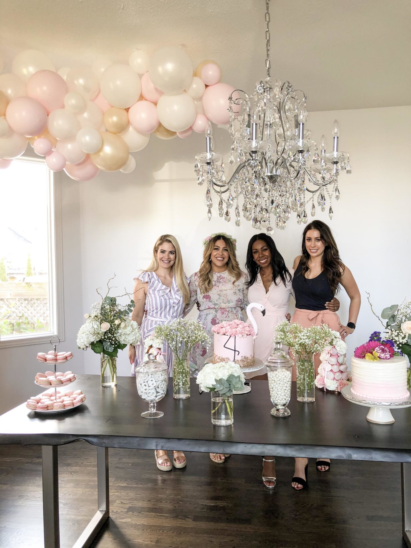 Tara Vassilev's baby shower