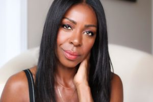 Dominique Baker With Healthy Relaxed Hair