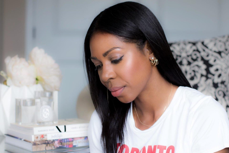 Dominique Baker using Olaplex No.3 Hair Perfector