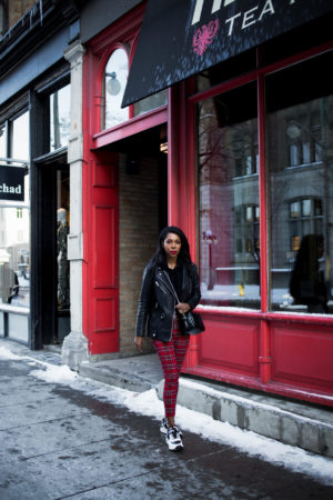 Dominique Baker Walking Down Sussex Street Ottawa Canada