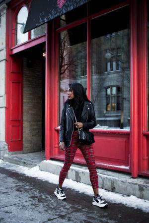Dominique Baker Walking Down Sussex Street Ottawa Canada