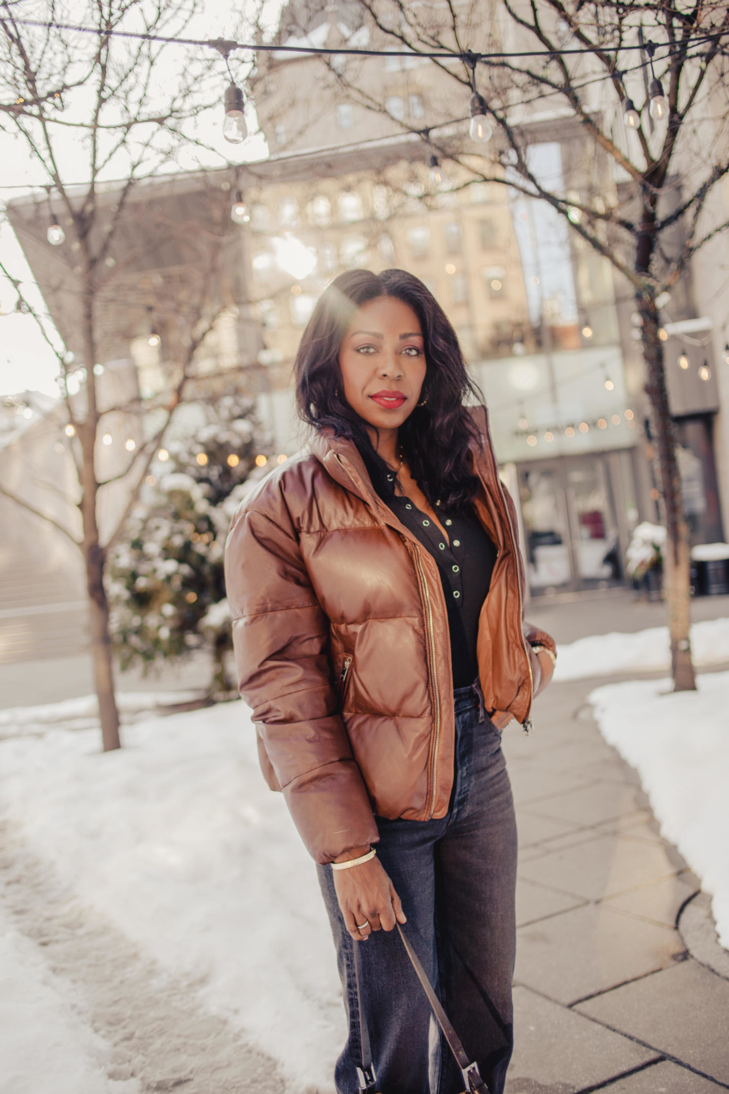Dominique Baker walking through the Byward Market January 2020