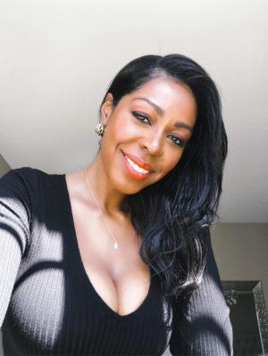 Dominique Baker Bedroom Selfie