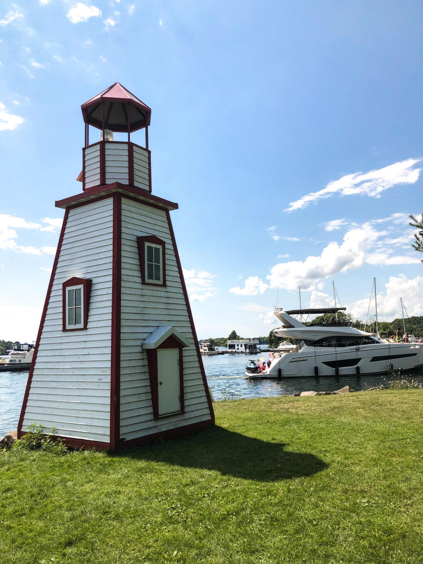 Lighthouse at Joel Stone Park, 1000 Islands