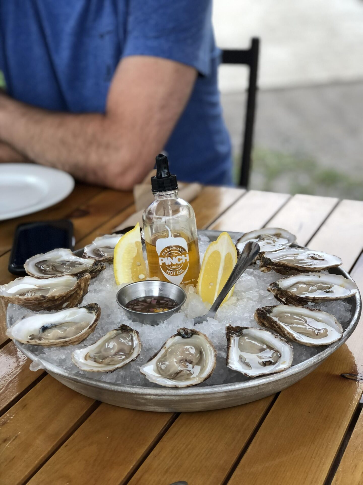 Oysters at Norman Hardie